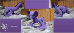 Little Plush Dragon by azumioftreali