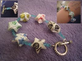 Killjoy Lucky Star Bracelet by FreakingCyanide