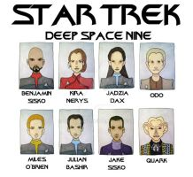 STAR TREK DS9 by BantamBB