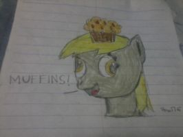 Derpy and her obsession by ztom176
