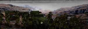Hill Battle by GeneralVyse