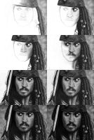 Jack Sparrow in few steps by titol87