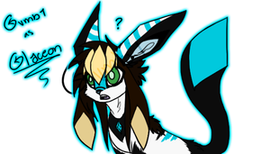 Glaceon Gambi by x-AL3X