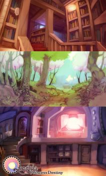 Questria Demo Backgrounds by mldoxy