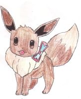 Eevee... by dark-legionleader
