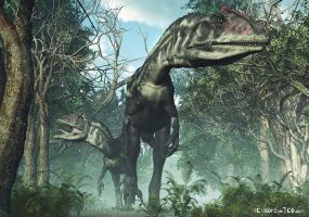 Allosaurus - TIME WARS by Nytcrawler