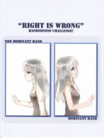 CR : Right is Wrong - Chocola by kurozatodaiya