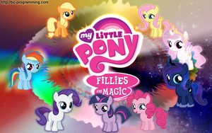 Fillies are Magic Wallpaper by BC-Programming