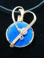 Intensely blue by DPBJewelry