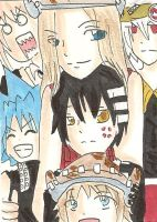 soul eater card by minamewulol