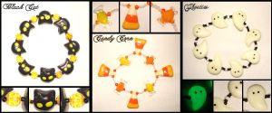 Halloween Bracelets 2007 by Cateaclysmic