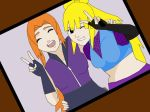 Sawaii and Miharu friends :P by VanillaTwilight1243