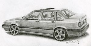 Another Volvo 850 by nismo4banger