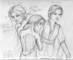 Character study of Lana by SMH-REDELK