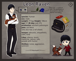 Leon ref-sheet by Lilion-Bayl