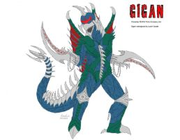 GODZILLA M.A.- Gigan by BloodDragon3000