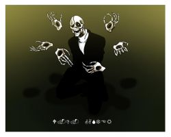 W.D. Gaster by InfamouslyDorky