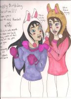 White and Brown Bunnies by Bellawho1