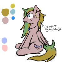 Polyester Stockings Reference by Socksthewarrior