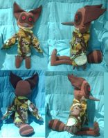 Rocky with sweater by PlushBuddies