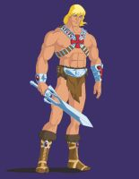 He-Man redesign concept by GrayskullPrime