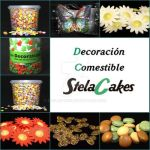 Decoracion comestible by StelaCakes
