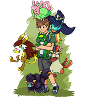 Pokemon Uranium by ililion