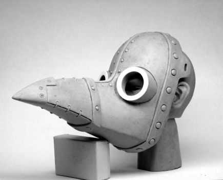 Plague Doctor Venetian Mask by Switchum