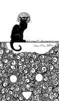 le chat noir by vasodelirium