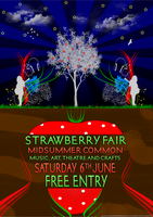 Strawberry Fair Poster. by ChubbaART