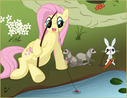 fishing time by Isegrim87