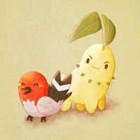 Chikorita hates everyone by manuee