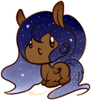 Starry Pony Adopt by Ambercatlucky2