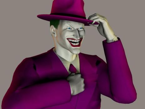 Joker, almost done by Lord-Typhon