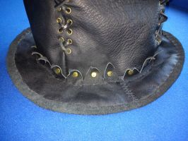 Steampunk Leather Hatt 2 by Zarganath