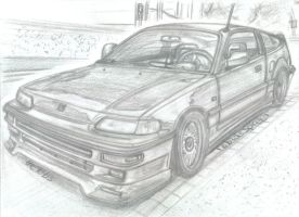 Original Honda CRX by theTobs