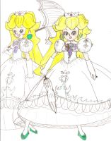 Peach in her White Dress Pt 4 by Aquateen510