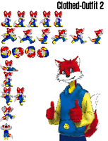 MikeyTheFox Sprites outfit 2 by MikeyTheFox