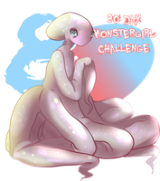 30 DAY MONSTER GIRL CHALLENGE - DAY 8 - OCTOMAID by J-Popsicle