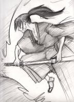 Dynamic Kenshin by janey-jane