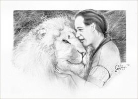 The Lion Man and Zion by sassyangel