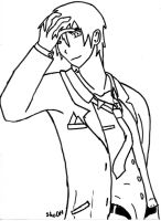 Adult Sealand Lineart by ShoOff
