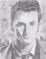 The Tenth Doctor by thedoctor-donna