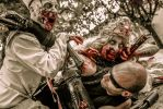 Scarlet Shadow - Zombie attack by John-MacGyver