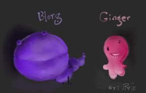 Blorg and Ginger by Jodee