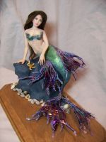"""Ligeia"" ooak mermaid by AmandaKathryn"