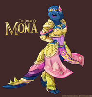 The Legend Of Mona by CutieClovers