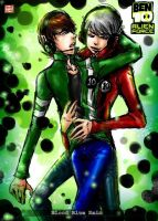 BEN10_Alien Force:Double BEN 2 by BloodBlueRain