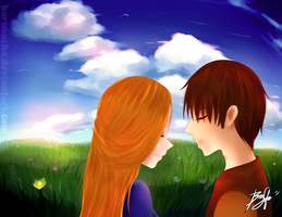 Request: Elisa and Dirk by HaruKuCha