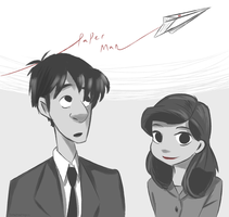 Paperman by darndragon